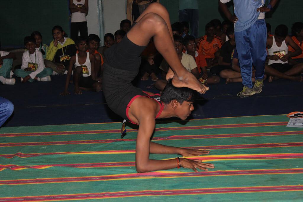 নগাঁৱত অাৰম্ভ  জিলাৰ যোগ ক্ৰীড়া প্ৰতিযোগিতা