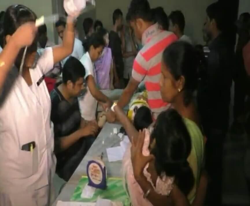 মঙলদৈত খাদ্যত বিষক্ৰিয়া, ২০ জনক চিকিৎসালয়ত ভৰ্তি