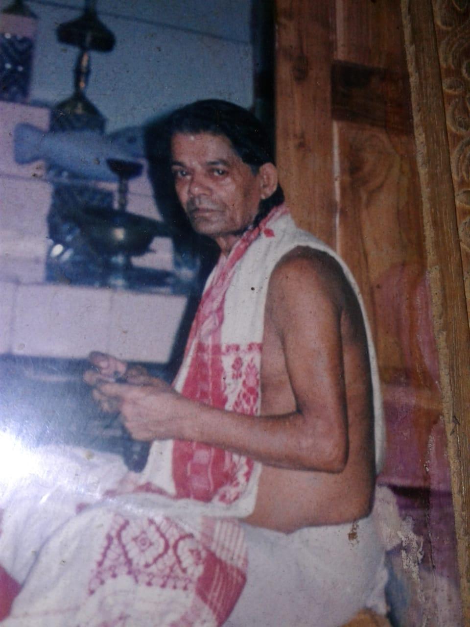 গুৰুজনাৰ একান্ত সেৱক, নামলগোৱা, সূত্ৰধাৰ কিৰণ কলিতাৰ বিয়োগ