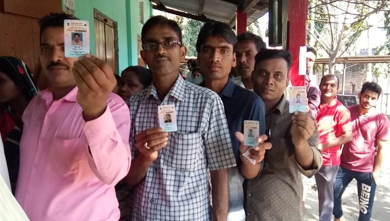 লোকসভা নিৰ্বাচন: ৩ বজালৈকে ভোটদানৰ হাৰ ৫৯.৪৬%