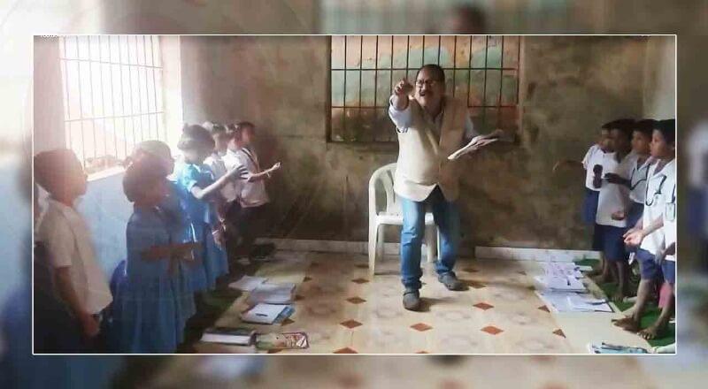নৃত্যৰ লগতে শিক্ষা দি ছ'চিয়েল মিডিয়াত  চৰ্চিত এজন শিক্ষক