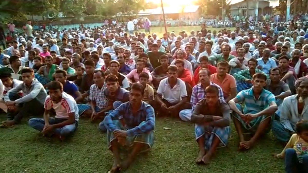 ডিটেনচন কেম্পত থকা ৯৫% মানুহেই ভাৰতীয় : ৰেজাউল কৰিম সৰকাৰ