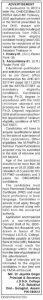 যোগানন্দ দেৱ সত্ৰাধিকাৰ গোস্বামী মহাবিদ্যালয়ত নিযুক্তি ২০২০