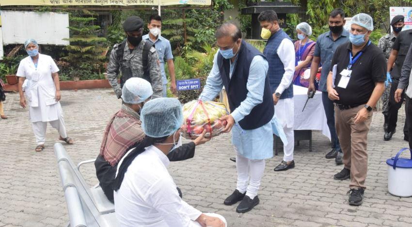 ক'ৱিড-১৯ত অসম এতিয়া সুস্থিৰ স্থিতিত আছে : স্বাস্থ্য মন্ত্ৰী হিমন্ত বিশ্ব শৰ্মা